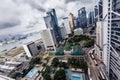 Buildings by day in Hong Kong