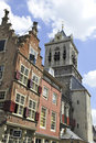Buildings in Delft,Holland Royalty Free Stock Photography