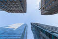 Buildings in downtown toronto canada th january an upwards view of during the day Royalty Free Stock Photography