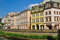 Buildings in Karlovy Vary Stock Photo