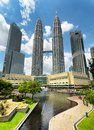 Buildings kuala lumpur malaysia november view of petronas twin towers on november in kuala lumpur currently the petronas are the Stock Images