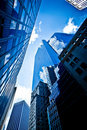 Buildings in New York City Royalty Free Stock Photo