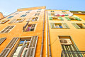 Buildings in Nice, French Riviera Royalty Free Stock Images