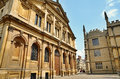 Buildings in oxford england view of historic the centre of a university city oxfordshire Royalty Free Stock Image
