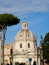 The buildings of rome italy Royalty Free Stock Photography