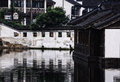 Buildings in Tongli water town Royalty Free Stock Photo