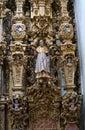 Valenciana church details near Guanajuato, Mexico Royalty Free Stock Photo