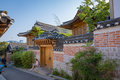 Bukchon Hanok Village in Seoul city