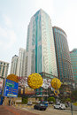 Bukit bintang district in kuala lumpur malaysia is the shopping and entertainment of it encompasses street and its Royalty Free Stock Image