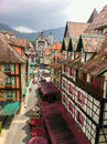 Bukit tinggi a french theme resort in malaysia have an inspiration from colmar france it is one of popular destination which is Stock Photo