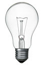 Bulb electric b w image Stock Image