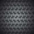 Bulb pattern black background stock Royalty Free Stock Photo