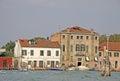 Buldings on the island Murano, VENICE, ITALY Royalty Free Stock Photo