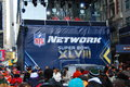Bulevar do super bowl new york city Foto de Stock