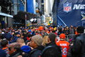Bulevar do super bowl new york city Fotografia de Stock Royalty Free