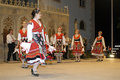 Bulgaria musical dance group Royalty Free Stock Photo