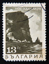 BULGARIA stamp shows Kaliakra cape, circa 1975 Royalty Free Stock Photo