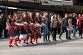 Bulgarian folk dance Royalty Free Stock Photo