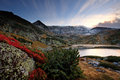 Bulgarian lake in rila mountain Stock Image