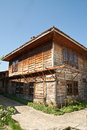 Bulgarian revival house Royalty Free Stock Images