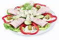 Bulgarian salad Stock Images