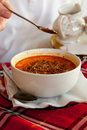 Bulgarian Tripe Soup Royalty Free Stock Images