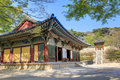 Bulguksa temple gyeongju city south korea Royalty Free Stock Photos