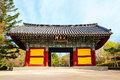 Bulguksa Temple UNESCO World Heritage Korean old architecture in Korea Royalty Free Stock Photo