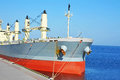 Bulk carrier ship Royalty Free Stock Photo