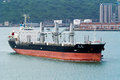 Bulk carrier trump in durban south africa feb the seen on feb harbour Stock Images