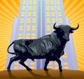 The Bull Stock Image