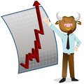 Bull Market Royalty Free Stock Images