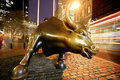 Bull in NY Wall Street Royalty Free Stock Image