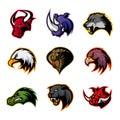 Bull, Rhino, Wolf, Eagle, Cobr...