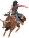 Bull Rider Royalty Free Stock Photo