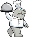 Bulldog Chef Royalty Free Stock Image