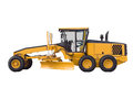 Bulldozer, isolated on white Royalty Free Stock Photo