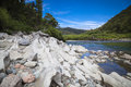 Buller River landscape New Zealand Royalty Free Stock Photo
