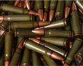 Bullet background two Stock Photos