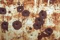 Bullet Holes Royalty Free Stock Photo