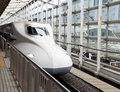 Bullet train, Shinkansen Stock Photography