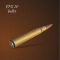 Bullet vector illustration of a Royalty Free Stock Image
