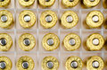 Bullets in case Royalty Free Stock Photo