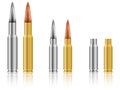 Bullets set Royalty Free Stock Photography