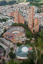 Bullfight Arena in Bogota Colombia Stock Photography