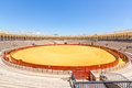 bullfight arena stadium Royalty Free Stock Photo