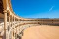 Bullring in Ronda, Spain Royalty Free Stock Photo