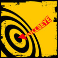 Bulls eye Stock Photography