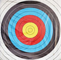 Bulls eye target Stock Photos