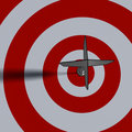 Bullseye - business concept Royalty Free Stock Photo